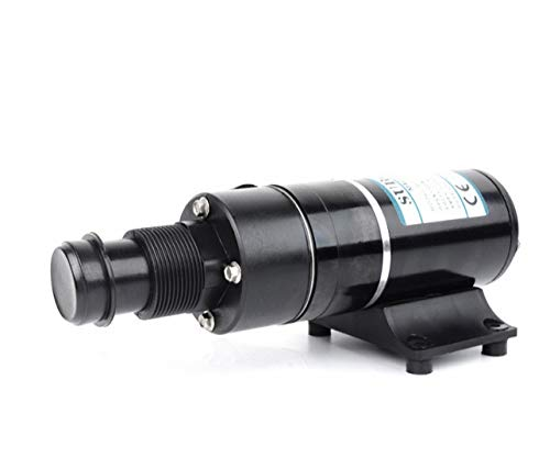 12V Sewage Pump,Double Blade Design Single Suction 45L/min for RV Yacht Marine Toilet(USA Stock) by LYNICESHOP (Image #1)