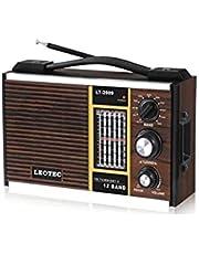 راديو يعمل بالبطارية والكهرباء من جولون موديل L. T2009