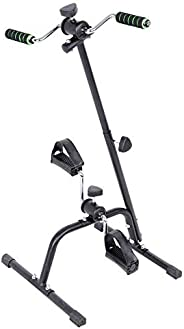 Pedal Exerciser, Adjustable Fit Sit Arm Leg Exercise Peddler Machine Indoor Fitness Bicycle Physical Machine f