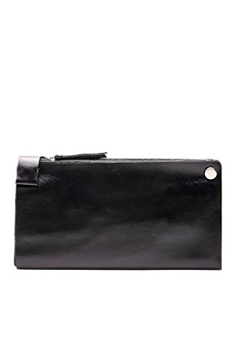 Anne Wallet Anne Leather Kokke Mens Multipurple Black Kokke Genuine Genuine Long Mens Aqn4TvW