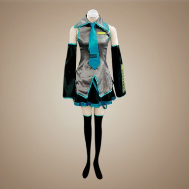 Vocaloid Hatsune Miku cosplay traje,Tamaño L:160-165 cm,50 ...