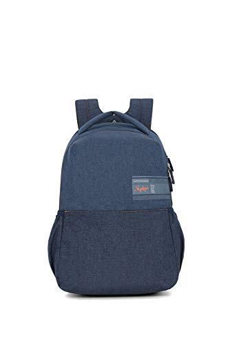 Skybags Beatle Pro 27 Ltrs Blue Laptop Backpack
