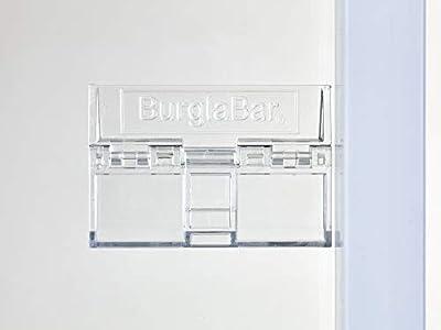Burglabar 6 Pack - Great for Sliding Patio Door Lock, (Use 2 for doors), Sliding Window Lock, Sliding Basement Windows Lock, Child Safety Lock