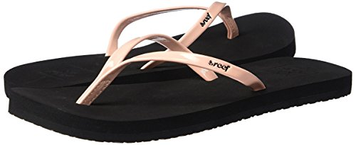 4a28f052ef3 Aeropost.com Nicaragua - Reef Womens Sandals Bliss Faux Patent Leather Flip  Flops for Women With Soft Cushion Footbed Waterproof