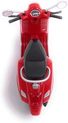 H Customs Vespa Motorroller Roller Cruiser Lizenzprodukt 1 18 Rot Auto