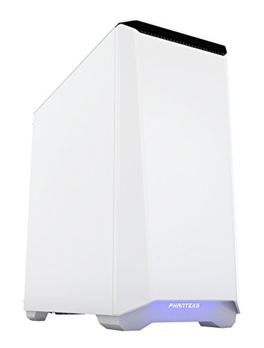 Phanteks Eclipse Series P400S Silent Edition, Steel ATX Mid Tower Case Glacier White (Eclipse Audio Tower)