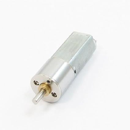 DealMux 3 milímetros Shaft 16 mm de diâmetro DC 6V 60rpm engrenagem redutor de velocidade w