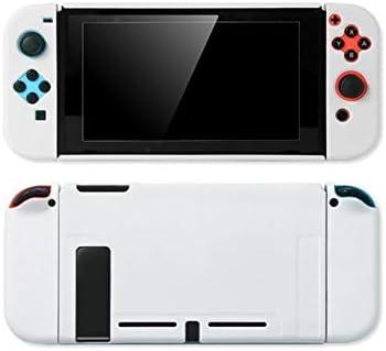 SzKing 任天堂スイッチコントローラシェルハード住宅のフルカバーケースゲームコンソールのカラフルなシェルのための保護ケース ホット (Color : A)