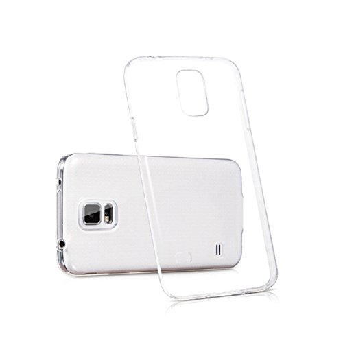 Transparent Rubber Case for Samsung Galaxy S5 i9600 G900 (Clear) - 4