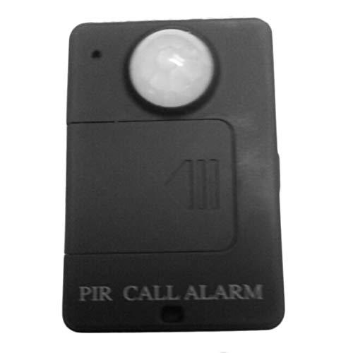 Mini PIR Sensor de alerta Infrarrojo GSM Inalámbrico Monitor de alarma Detección de movimiento Venta caliente Antirrobo Detector de movimiento inalámbrico: ...