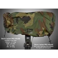 (Vortex Media Pro Storm Jacket Cover for an SLR Camera medium,Color: Camo)