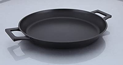 Uniware Top Quality 3 Layer Nonstick Casting Aluminum Paella Pan, Induction Compatible Bottom,