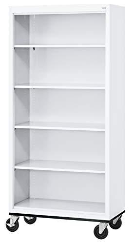 Sandusky Lee BM40361872-22 Elite Series Welded Mobile Bookcase, 18