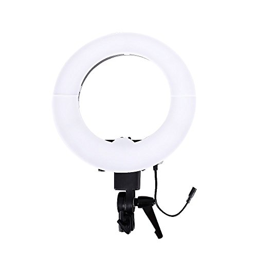 Camera Photo/Video 14 inches/36CM Outer 35W 240 Pieces LED Photo Lamp Ring Light 5500K Dimmable Ring Video Light for Portrait,Photography and YouTube Vine Video Shooting