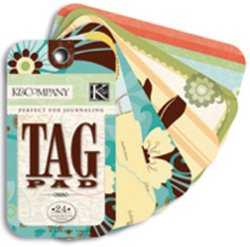 & K Company Tag Pad (Happy Trails Die-Cut Journal/Tag Pad)