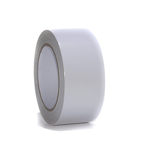 Double Sided Carpet Tape 2 inch x 60 feet (20 yards) For Rugs And (Carpet Masking Tape)