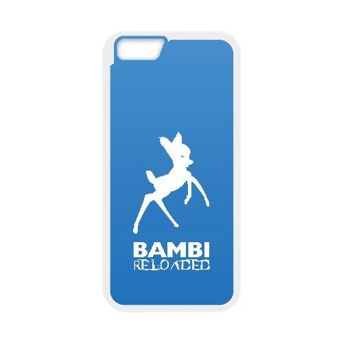 Bambi Ii 007 coque iPhone 6 4.7 Inch cellulaire cas coque de téléphone cas blanche couverture de téléphone portable EOKXLLNCD26563