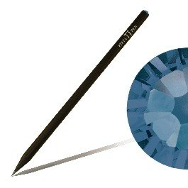 Matita con cristallo SWAROVSKI ELEMENTS Piffl Pen nero, Montana (207) CrystalsUnited