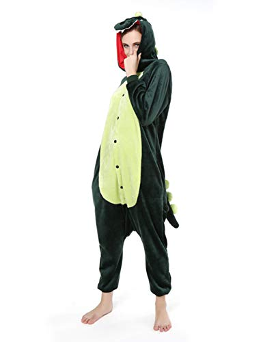 Couner Adult Animal Pajamas - Plush Flannel One Piece Pajamas Christmas Cosplay Costumes for Women, Warm and Soft
