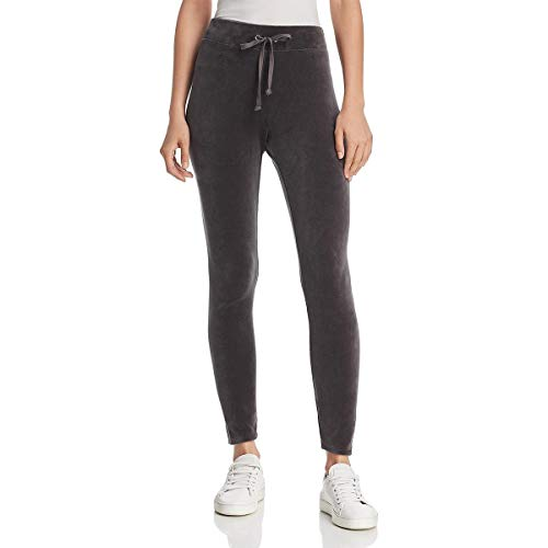 (Juicy Couture Black Label Wildstyle Womens Velour Legging Pants Gray Size XS)