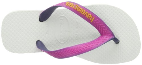 Bambino ragazza Bianco weiß Havaianas pink 0826 Mix white Infradito Top TU5xpwRq
