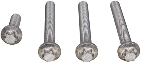 Pack of 10 Allstar Performance ALL19046 0.450 Steel Winged Head Self-Ejecting Button,
