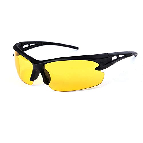 Driving Anti-Glare Sunglasses, CLKJYF Best Night Driving Glasses UV400 HD Polarized Sports Day Night Vision Sunglasses Eyes Protection from CLKJYF