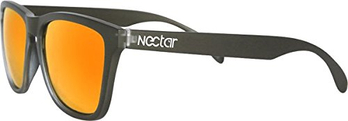 Nectar Wayfarer Polarized Pompeii Black/Orange - Nectar Clothing