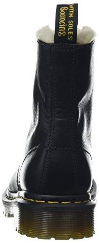 Mujer Negro Botines Serena Para Martens Dr black 1460 qpwXUFa
