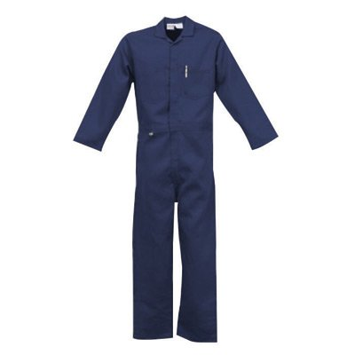 Stanco Safety Products XL Navy Blue 9 Oz Indura Ultra Soft Coveralls