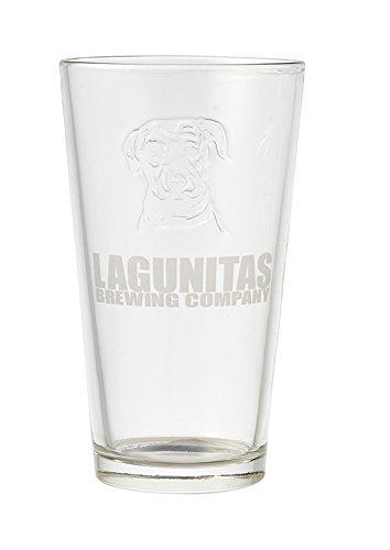 Lagunitas Brewing Company - Embossed Logo Pint Glass