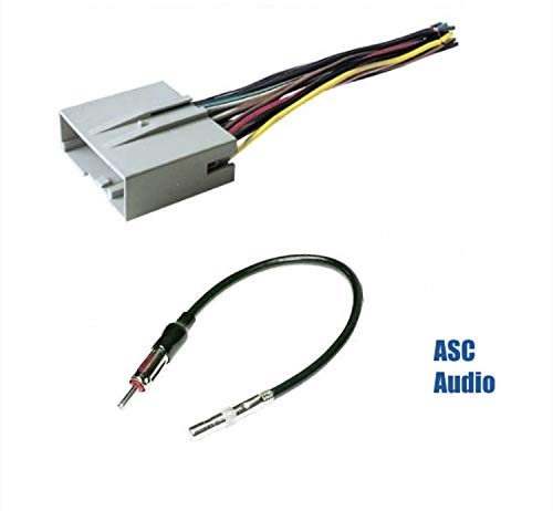 Compatible Vehicles Listed Below Other ASC Audio Car Stereo Wire Harness and Antenna Adapter to Install an Aftermarket Radio for some Ford Mercury Vehicles