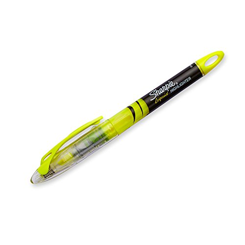 Sharpie Highlighters, Chisel Tip, Fluorescent Yellow, 12-Count by Sharpie (Image #3)