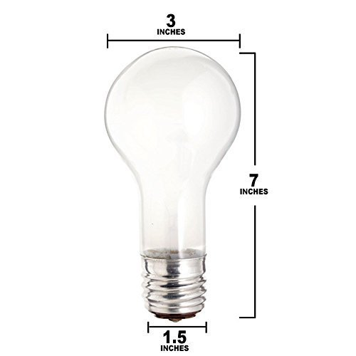 (6 Pack) Osram Sylvania 100/200/300w 120v PS25 Three way frosted incandescent light bulb 120v Ps25 Light Bulb