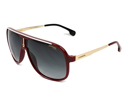 (Carrera 1007/S C9A9O (Red - Gold with Grey Gradient lenses))