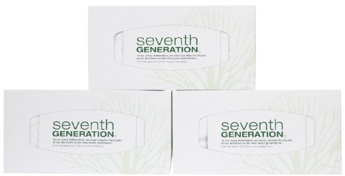 Seventh Generation Facial Tissues, 2 ply - 175 ct - 3 pk