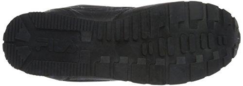 Fila Orbit Velcro Low - Zapatillas Hombre Schwarz (Black/Black)