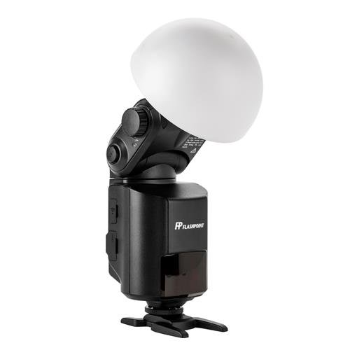 Flashpoint AD-S17 Wide Angle Soft Focus Shade Diffuser for AD360 StreakLight & eVOLV 200 Pocket Flash Bare-Bulb Heads
