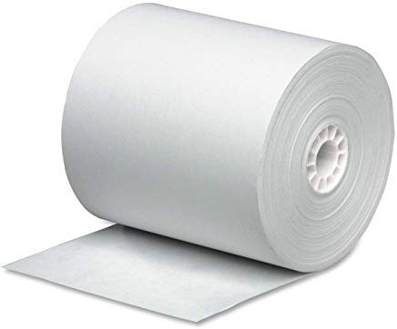PM Company Cash Register Paper Rolls, 3 Inch x 165 Feet, 50 Rolls per Carton (07788) (3-Pack) by PM Company (Image #1)