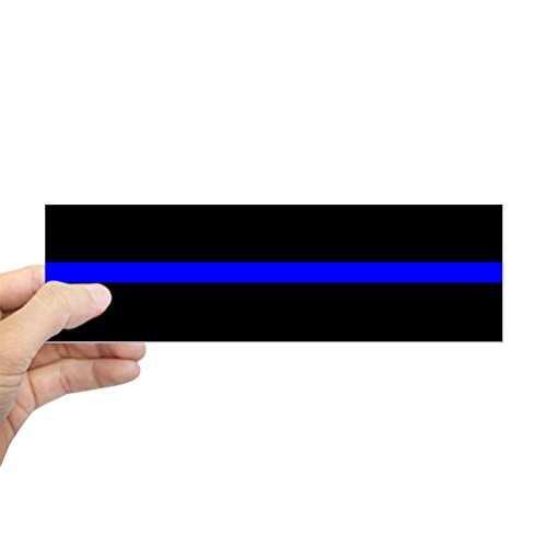 CafePress Police Sticker Bumper Rectangle