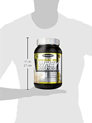 MuscleTech Premium Gold 100% Whey Protein, Premium Whey Protein Powder, Instantized and Ultra Clean 100% Whey Protein, Vanilla Ice Cream, 2.5 Pounds