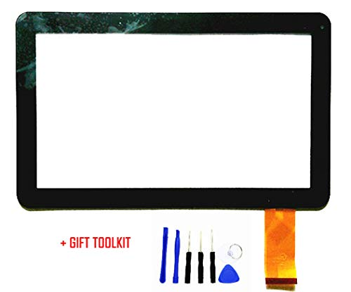 10.1 Touch Screen Digitizer Glass Replacement for 10in Linsay KitKat F-10XHD 10.1'' Inch Tablet PC by GR Touch (Image #8)
