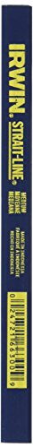 Line Pencil Strait Carpenters (IRWIN Tools STRAIT-LINE 66300 Carpenter's Pencil, Medium Lead (66300))