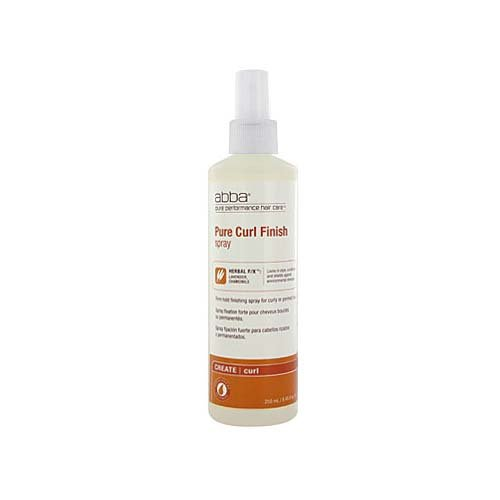 ABBA Pure Firm Hold Curl Finish Spray 8.45 oz