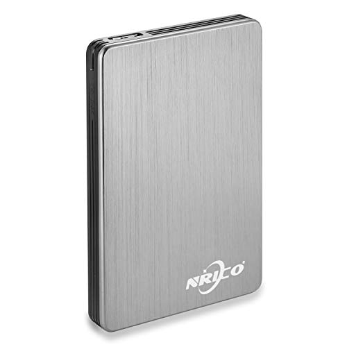 NRICO Portable External Hard Drive USB 3.0 HDD 2.5inch Storage Compatible for PC, Mac, Desktop,PS4