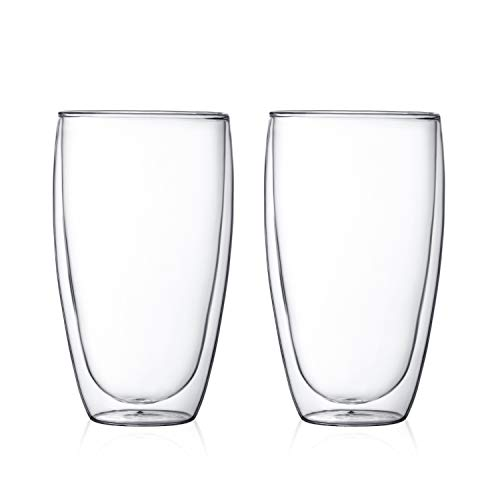 - Bodum 4560-10US Pavina Double Wall Large Glass