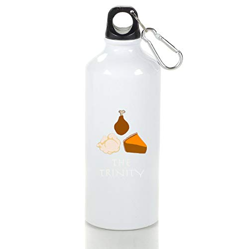 Wenlitee The Thanksgiving Trinity Aluminum Outdoor Sports Bottle Mountaineering Kettle White S