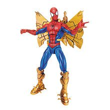 Spider-Man Trilogy: Classic Heroes Spider-Man with Snap on Rocket Armor Action Figure, Baby & Kids Zone