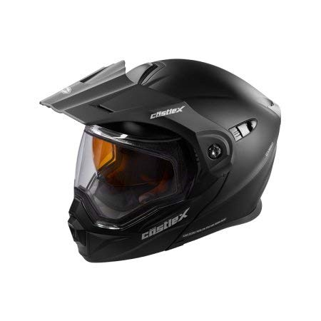 Castle X EXO-CX950 Modular Snowmobile Helmet Solid Matte Black 3XL