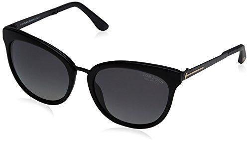 New Tom Ford Sunglasses Women TF 461 Black 02D Emma - Sunglasses Tom Ford New